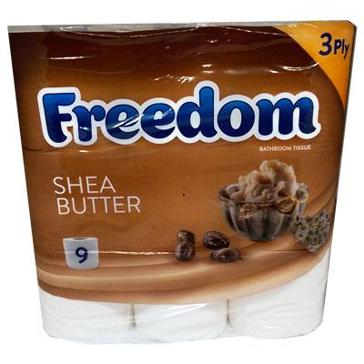 Freedom Shea Butter Toilet Roll