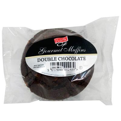 Pearls Double Chocolate Muffin