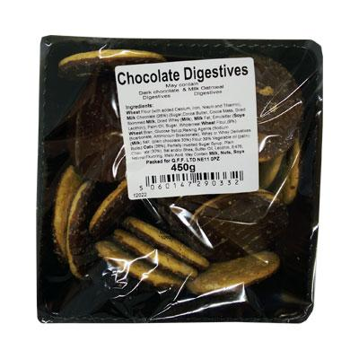 Assorted Chocolate Digestives