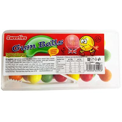 Sweeties Gum Ball Tub