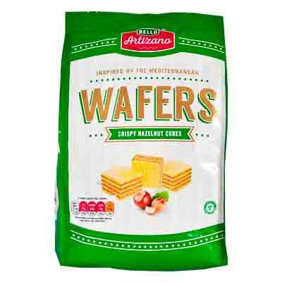 Bello Artizano Hazelnut Wafer Cubes
