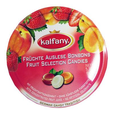 Travel Sweet Tins Fruit