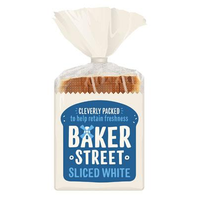 Baker Street Long Life White Sliced Bread