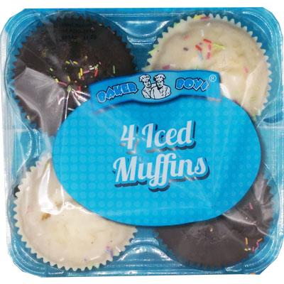 Iced Muffins