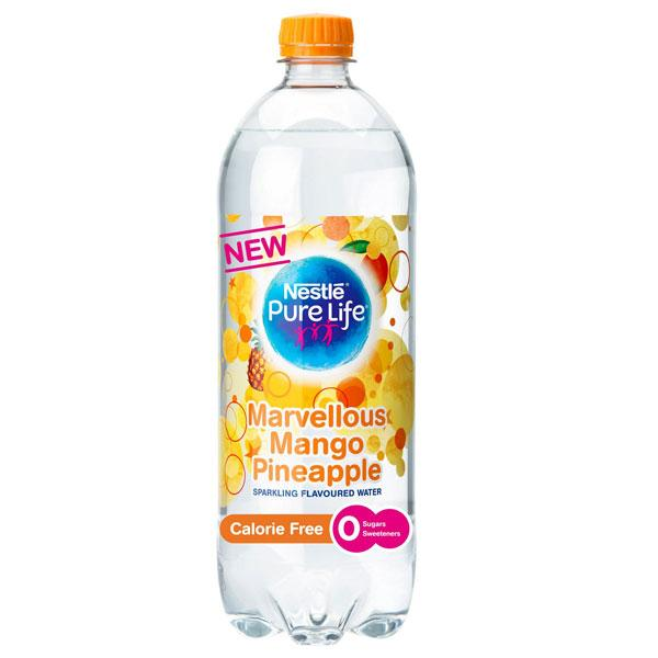 Pure Life Mango & Pineapple Sparkling Water