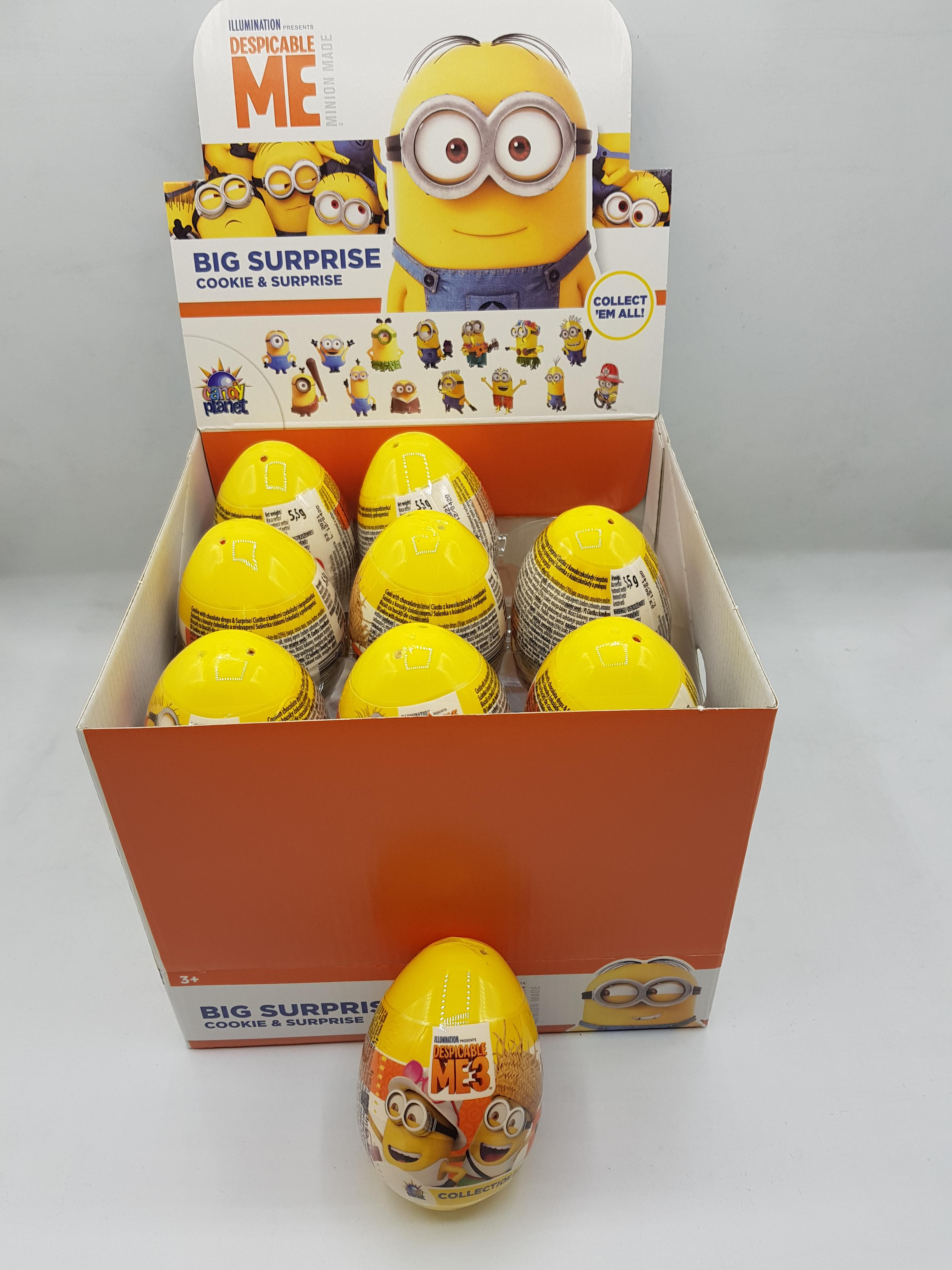 Rose Minion Plastic Surprise  Eggs