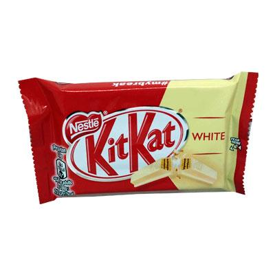 Kit Kat 4 Finger White