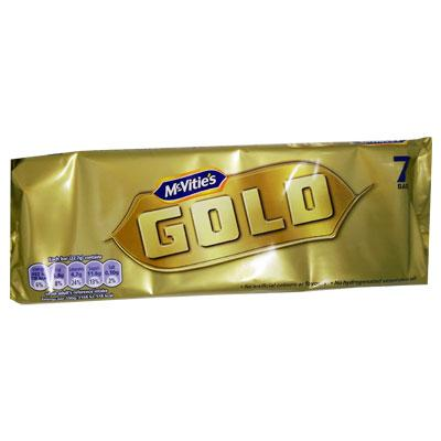 McVities Gold Bar