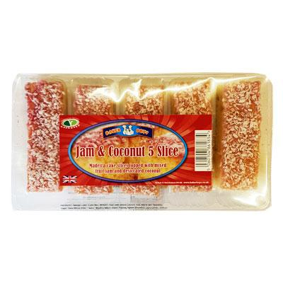 Baker Boys Coconut Slices