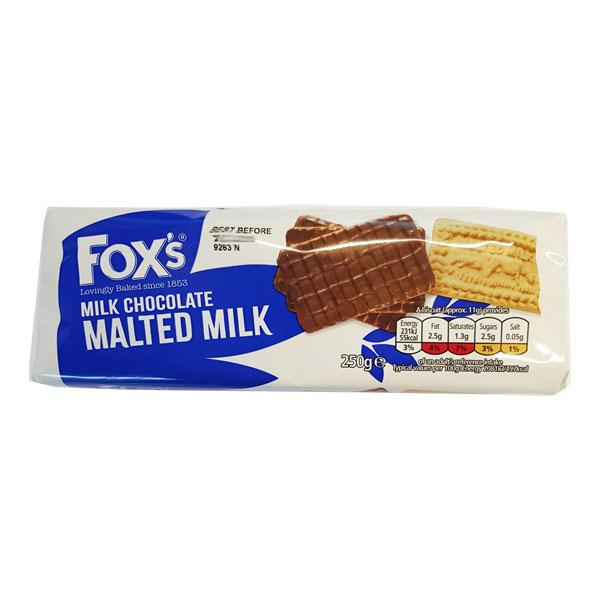 Foxs Chocolate Malted Milk
