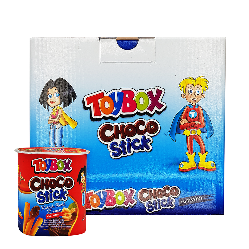 Toybox Choco Stick Hazelnut & Cream