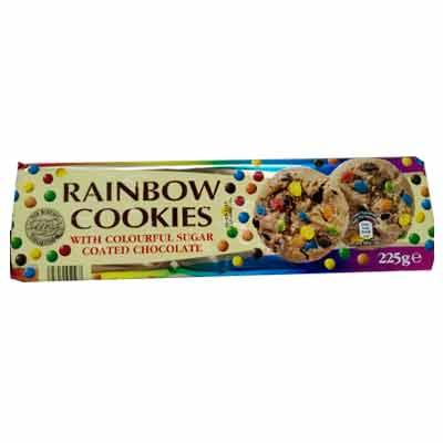 Merba Rainbow Cookies