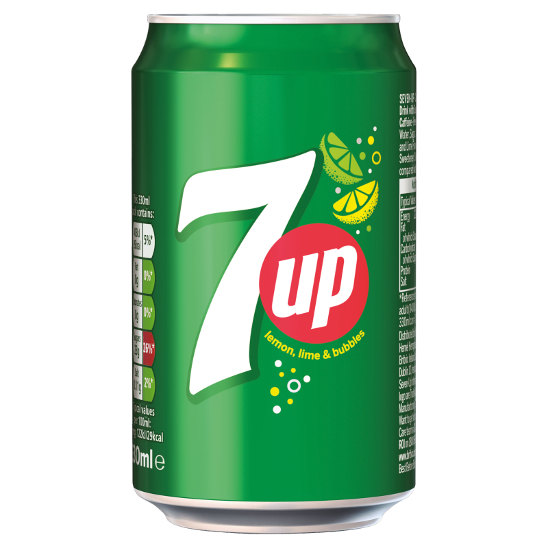 7 up Lemon & Lime 330ml Cans