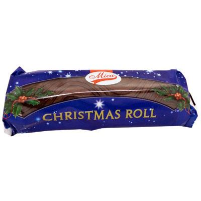 Mica Chocolate Christmas Roll