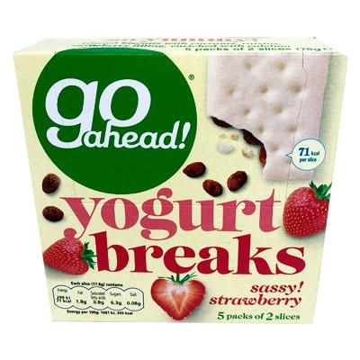 Go Ahead Strawberry Yogurt Breaks