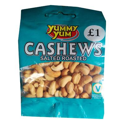 Yummy Yum Salted Cashews