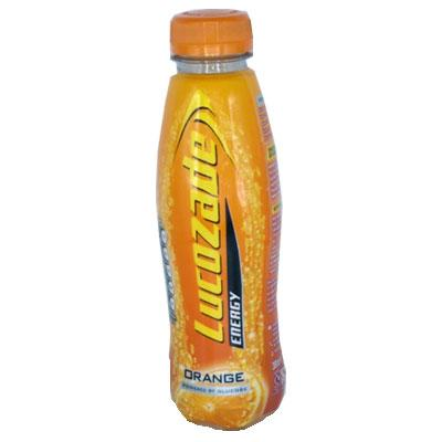 Lucozade Orange Bottles