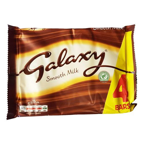 Galaxy Milk 4 pack