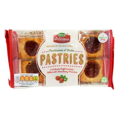 Bello Artizano Strawberry Pastries