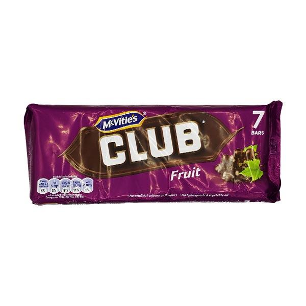 McVities Club Fruit 7pk x 30