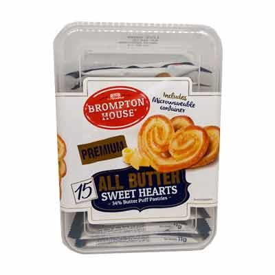 Brompton House All Butter Hearts