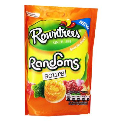Rowntrees Randoms Sour Pouch