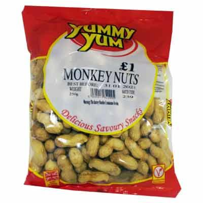 Yummy Yum Monkey Nuts