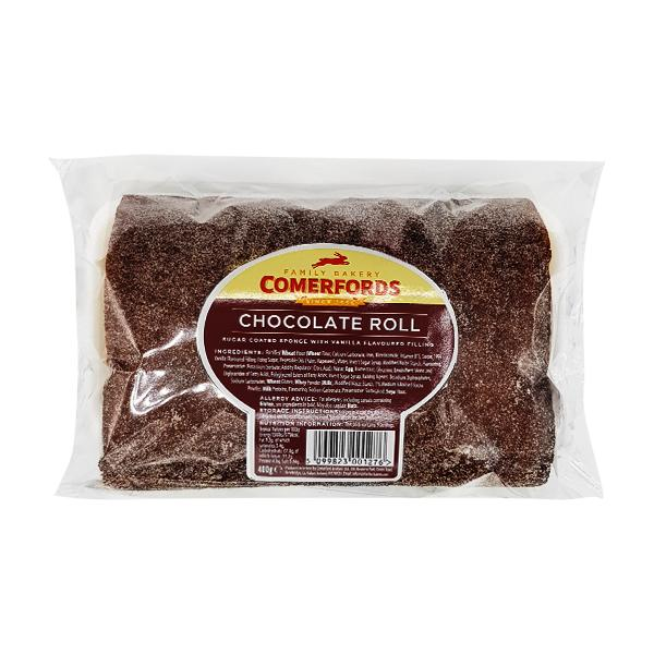 Comerford Chocolate Swiss Roll