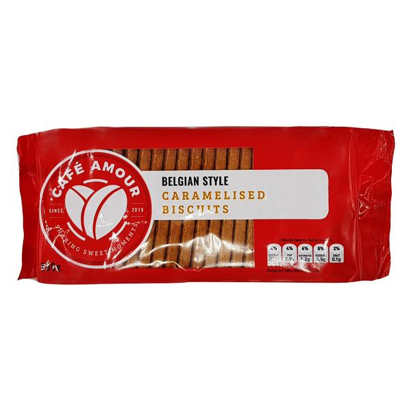Cafe Amour Caramelised Biscuits 180g
