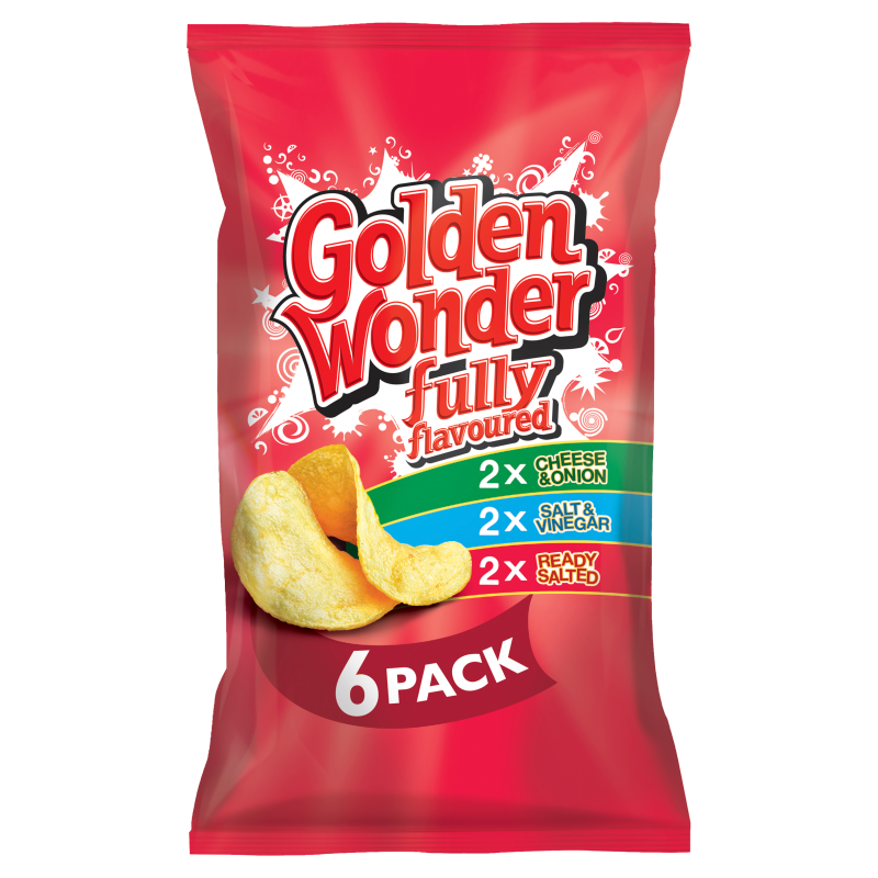 Golden Wonder Variety 6pk