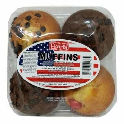 Pearls Muffins 4 Pack