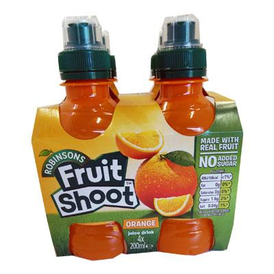 Fruit Shoot Orange 4pk