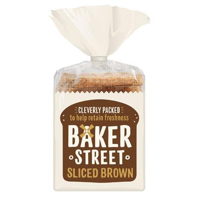 Baker Street Long Life Sliced Brown Loaf
