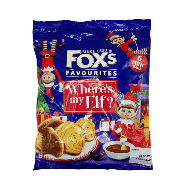 Foxs Mini H/C Elf on the Shelf 6Pk x8