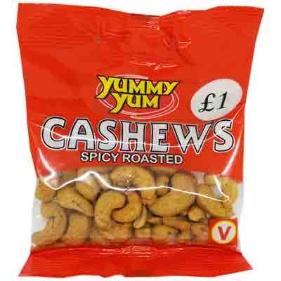 Yummy Yum Spicy Cashews