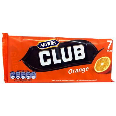 McVities Club Orange