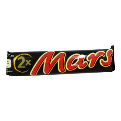 Mars Bar with Nougat Filling filled with Caramel and Chocolate