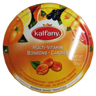 Travel Sweet Tins Multi Vitamin