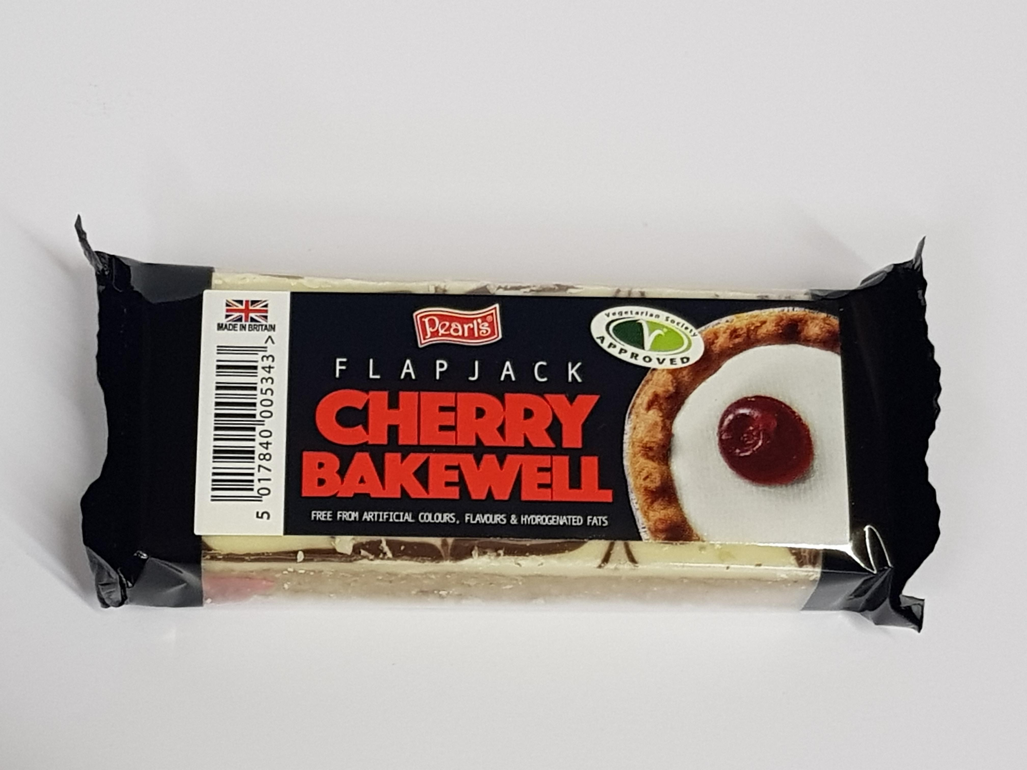 Pearls Cherry Bakewell Flapjack