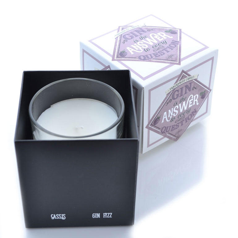 Cassis Gin Fizz Gin Scented Candle