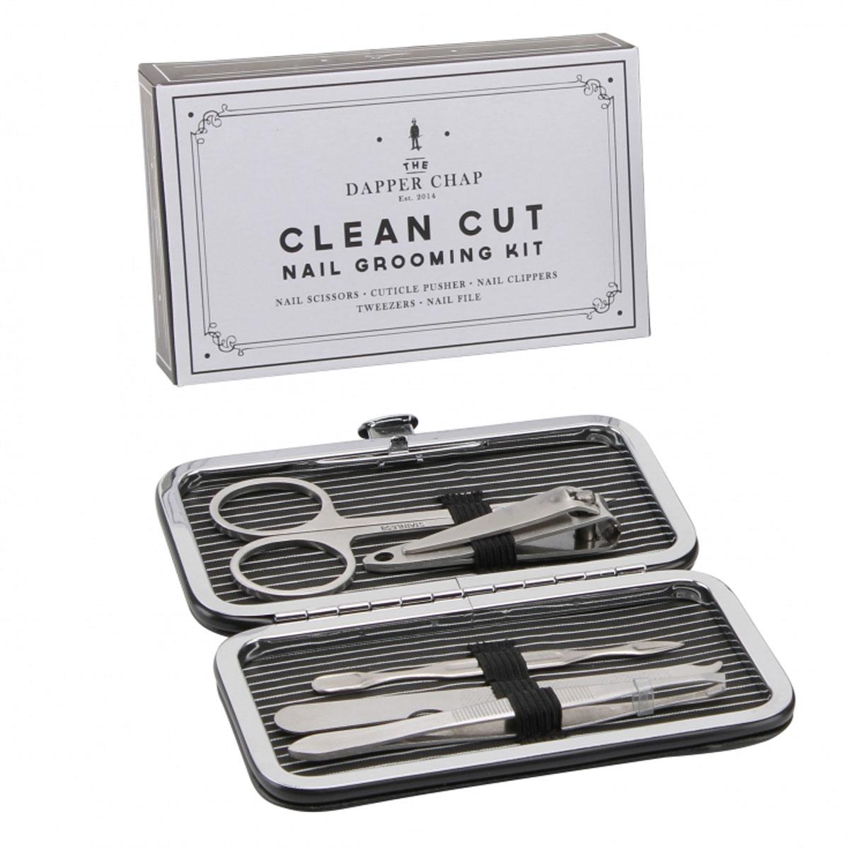 Men's Retro Dapper Chap Small Travel Manicure Set