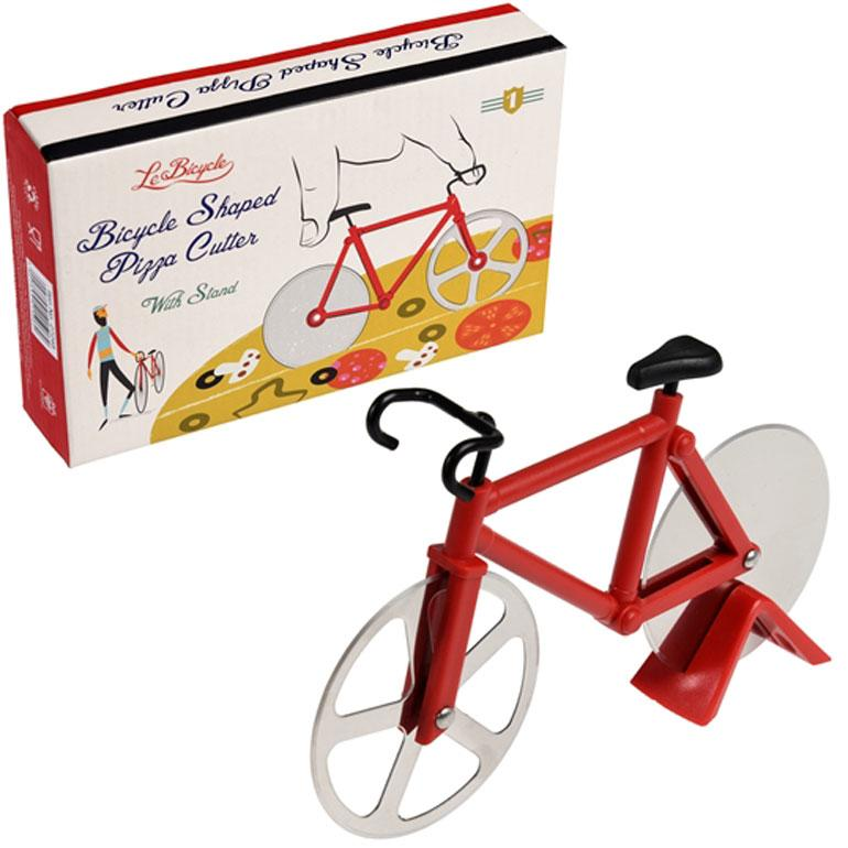 Red Bicycle Shaped Pizza Cutter Gift