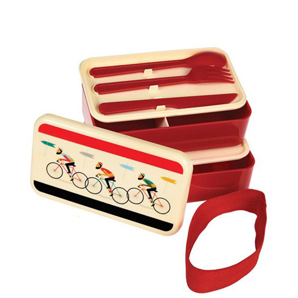 Le Bicycle Cycle Theme Bento Lunch  Box