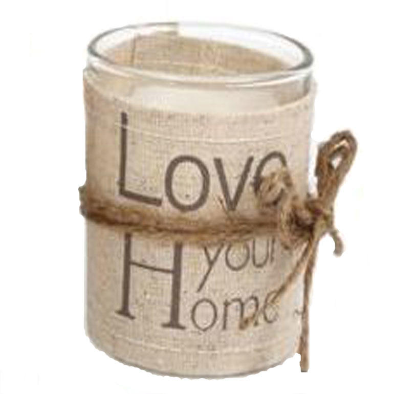 Love Your Home Linen Scented Candle