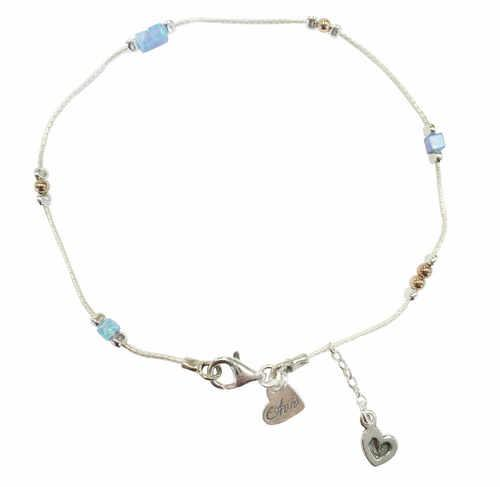 Heart Charm On Chain Anklet