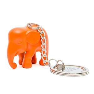 Elephant Parade Key Ring Orange ElElephant Paradehant in Silicone M1