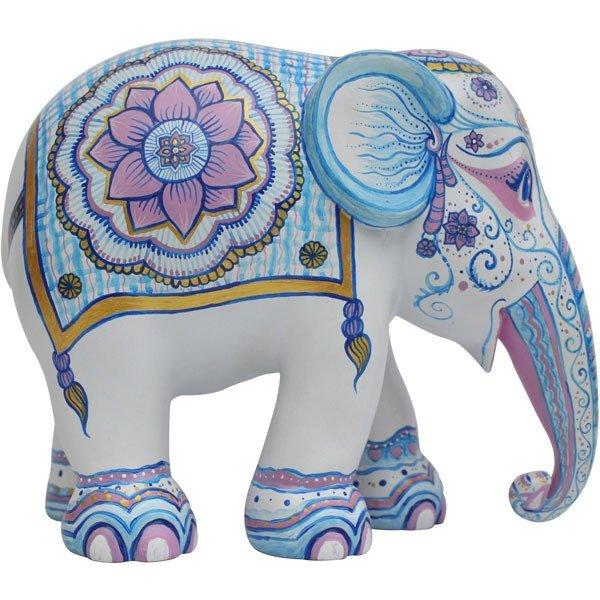 Elephant Parade Indian Blues 10cm
