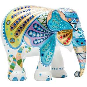 Elephant Parade Mosaic Wings 30cm