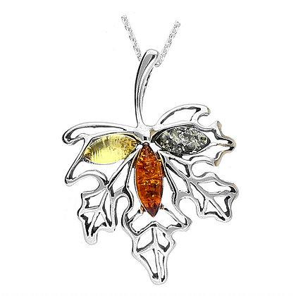 Artico Beauty Mix Amber Silver Pendant