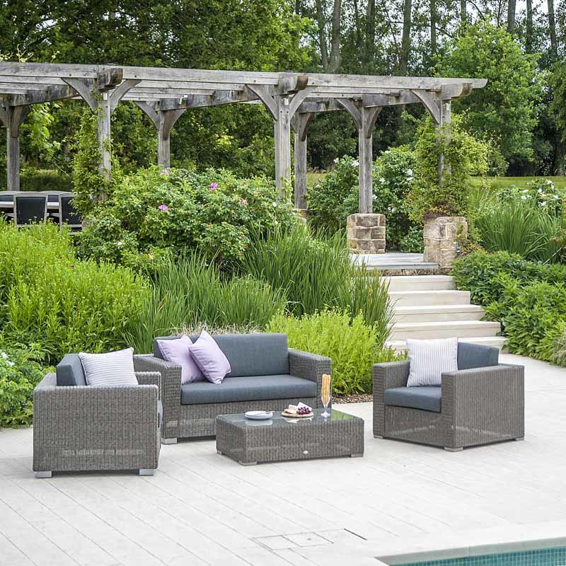 rattan_garden_sofa_lounge_armchairs_modern_grey_weatherproof_wicker